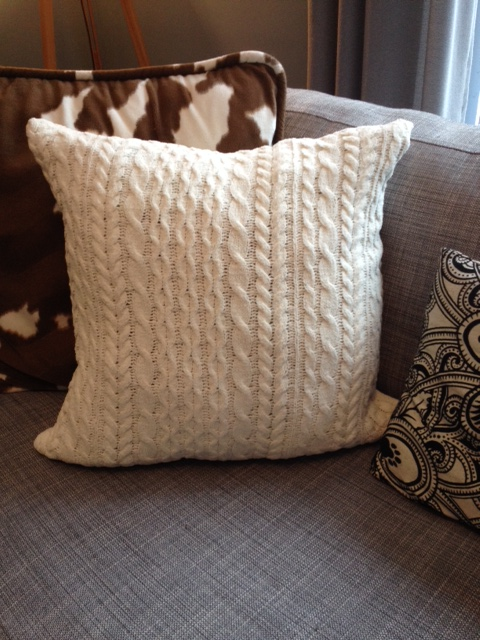 Completed pillow.