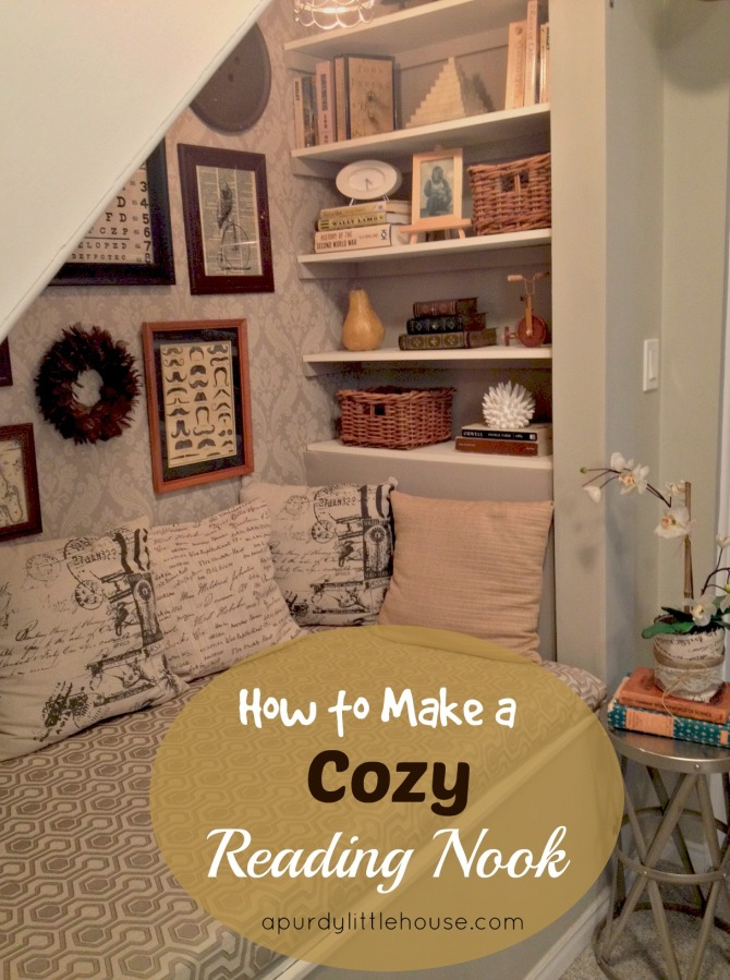 reading nook / The Best of 2015 from the blog / Best blog posts / top rated blog posts of 2015 / Most liked and shared posts / apurdylittlehouse.com