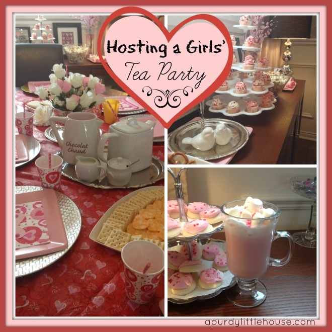 Girls Tea Party