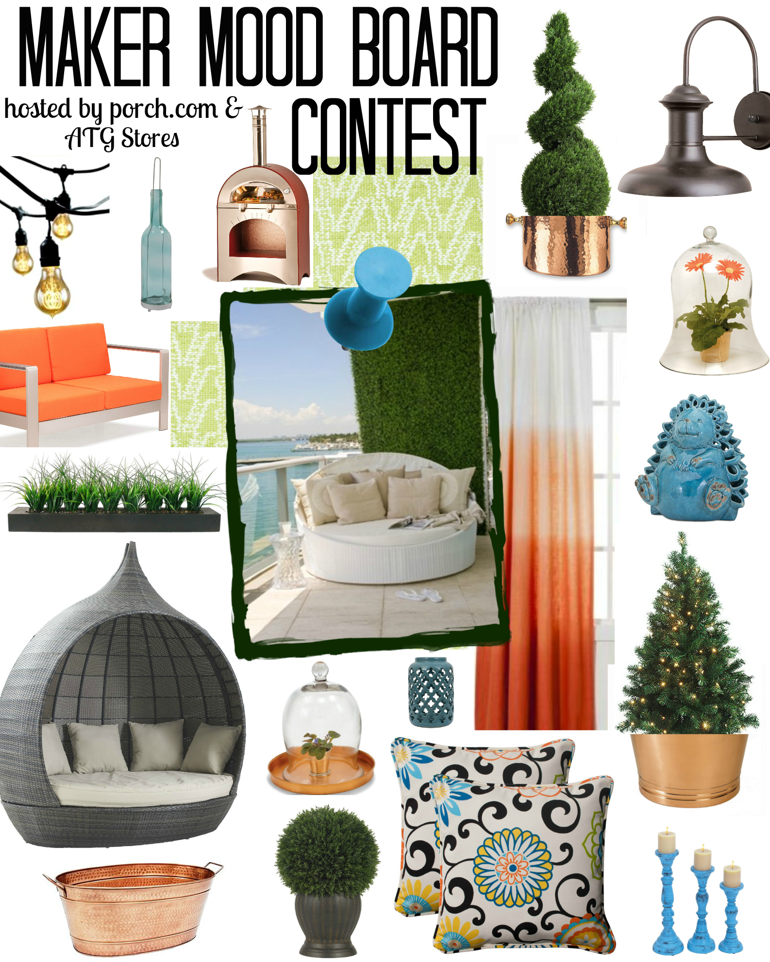 Maker mood board contest