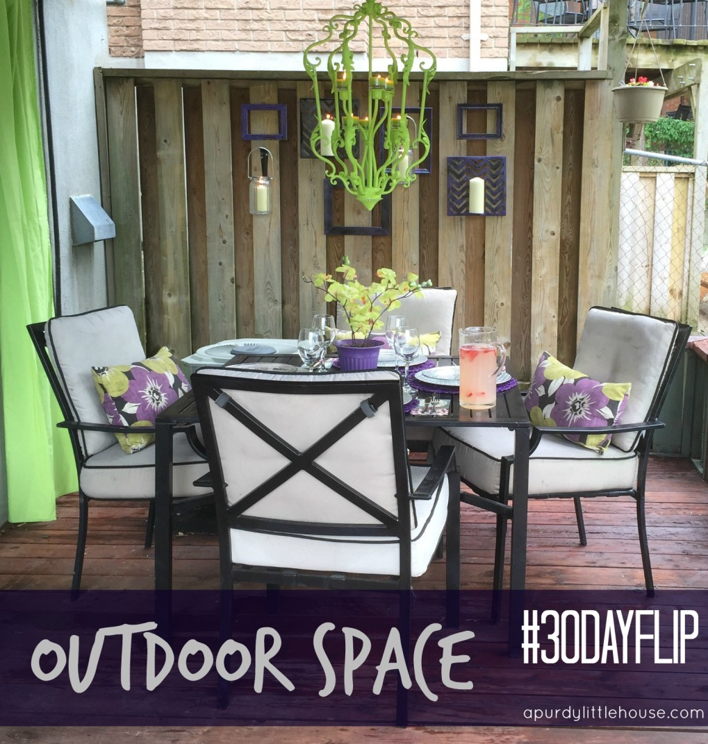 Outdoor Dining Space / The Best of 2015 from the blog / Best blog posts / top rated blog posts of 2015 / Most liked and shared posts / apurdylittlehouse.com