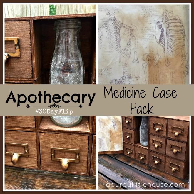 apothecary medicine case