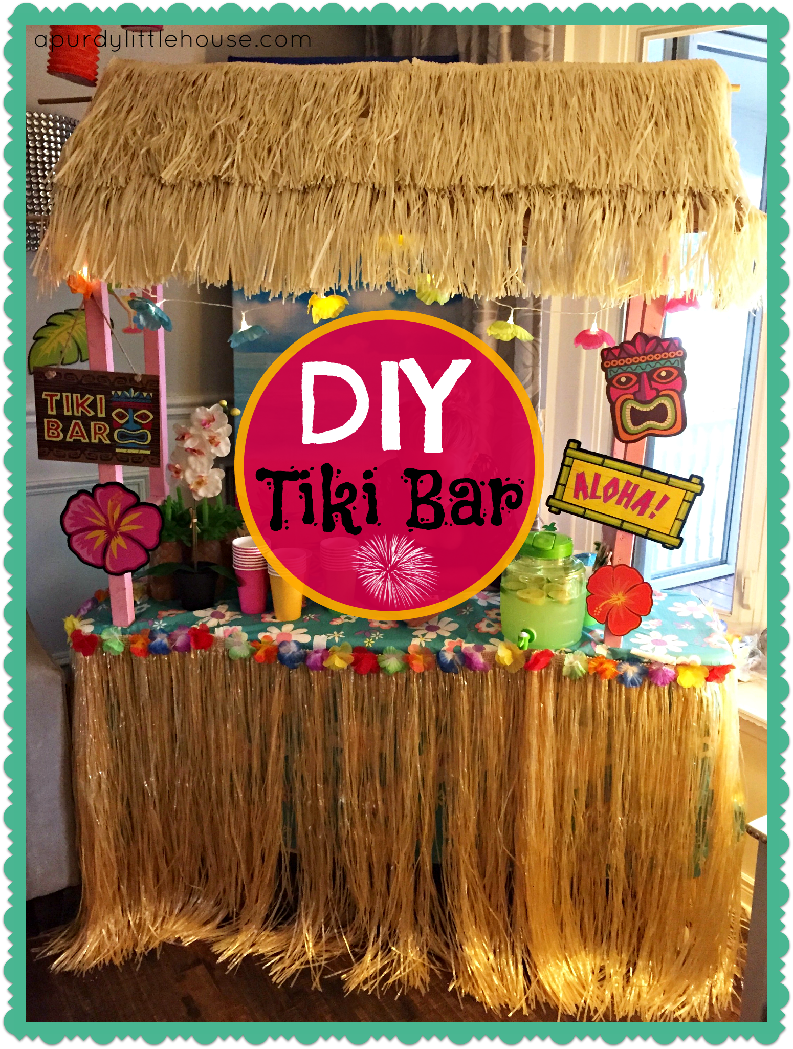 Tiki bar for Tiki decorations home