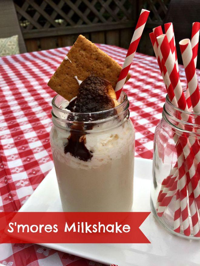 smores milkshake