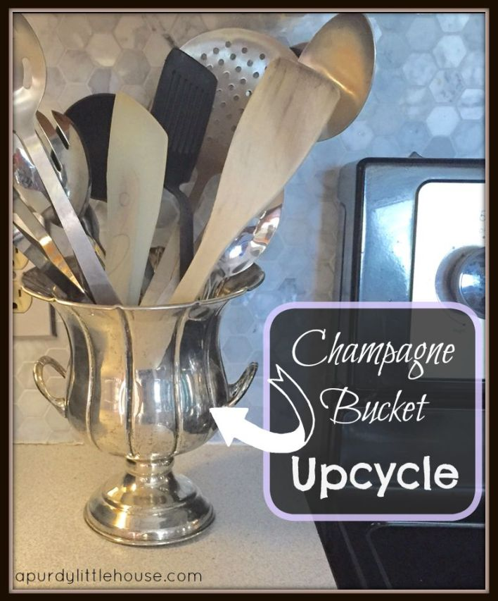 utensil holder champagne bucket