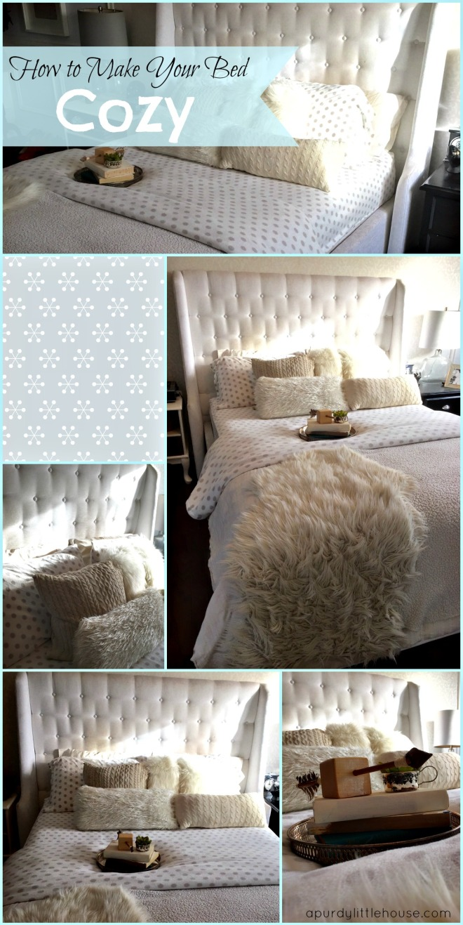 How to make your bed cozy